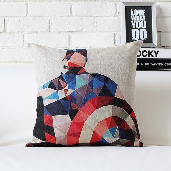 Polštář superhrdinové kapitán Amerika