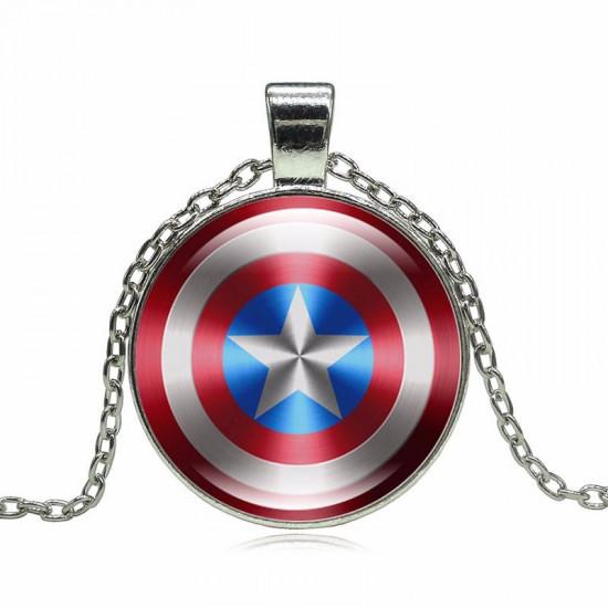 Řetízek Kapitán Amerika - štít