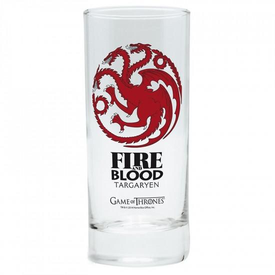 Sklenice Game of Thrones (Hra o trůny) - Targaryen