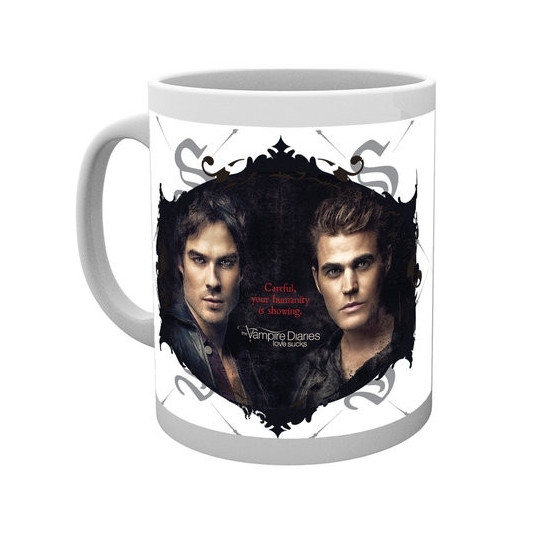 Hrnek The Vampire Diaries (Upíří deníky) - Damon a Stefan