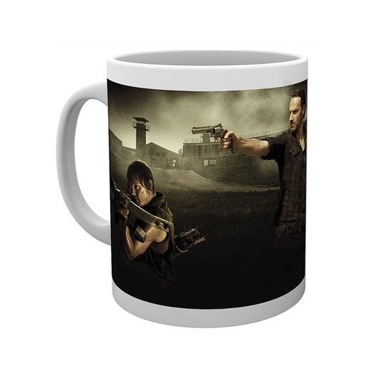 Hrnek The Walking Dead (Živí mrtví) - Daryl a Rick (2)