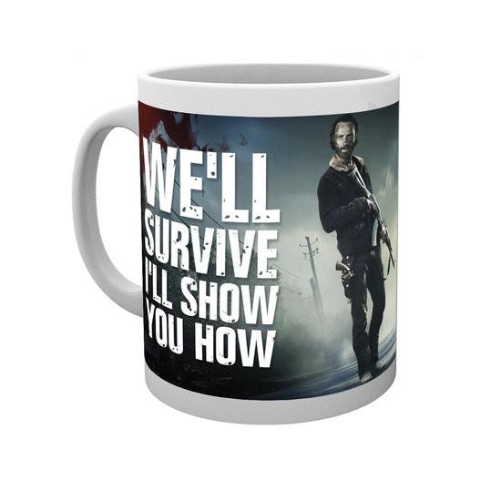 Hrnek The Walking Dead (Živí mrtví) - Daryl a Rick (3)
