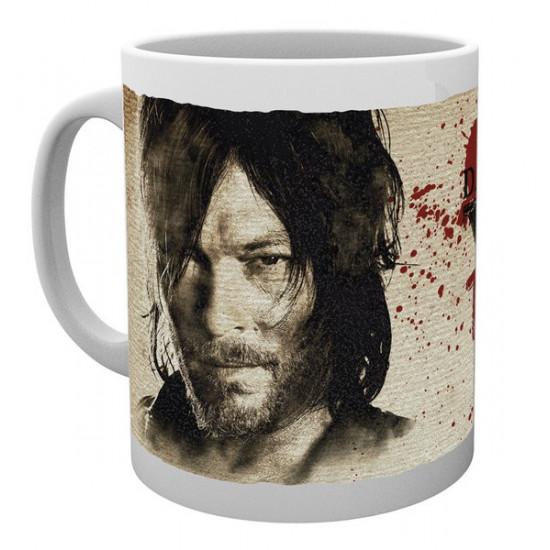 Hrnek The Walking Dead (Živí mrtví) - Daryl Dixon