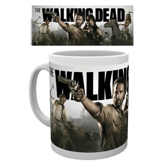 Hrnek The Walking Dead (Živí mrtví) - Daryl, Rick, Michonne