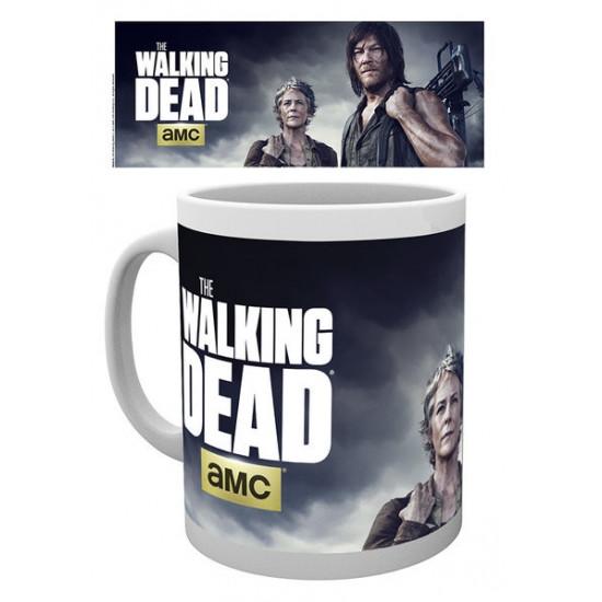 Hrnek The Walking Dead (Živí mrtví) - Daryl a Carol