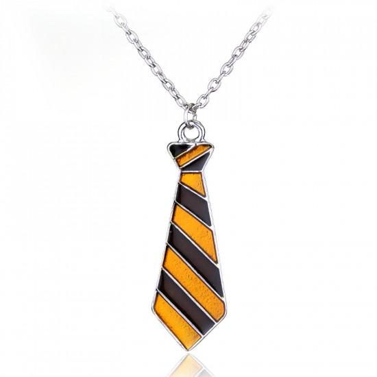 Harry Potter - náhrdelník kravata Nebelvír