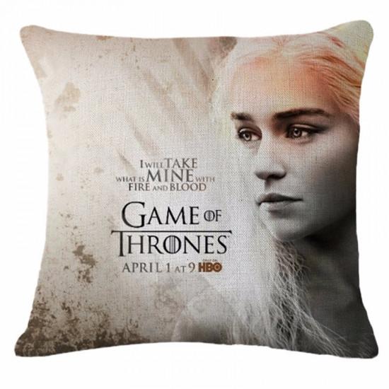 Polštář Game of Thrones (Hra o Trůny) - Daenerys