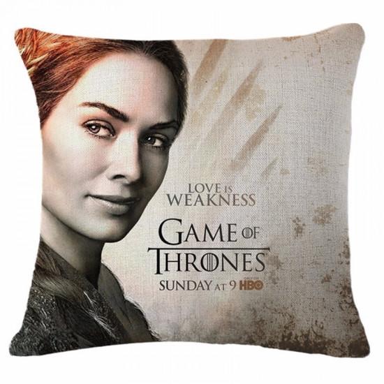 Polštář Game of Thrones (Hra o Trůny) - Cersei