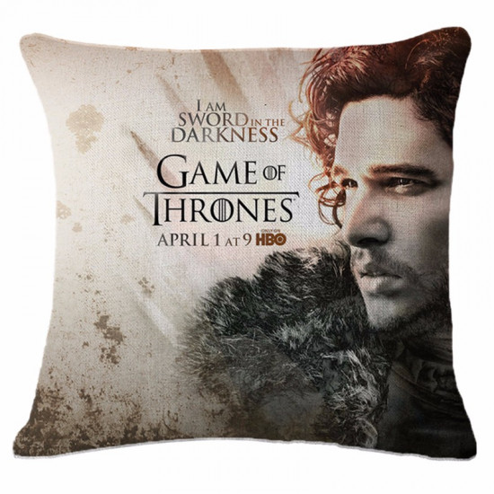 Polštář Game of Thrones (Hra o Trůny) - Jon Snow