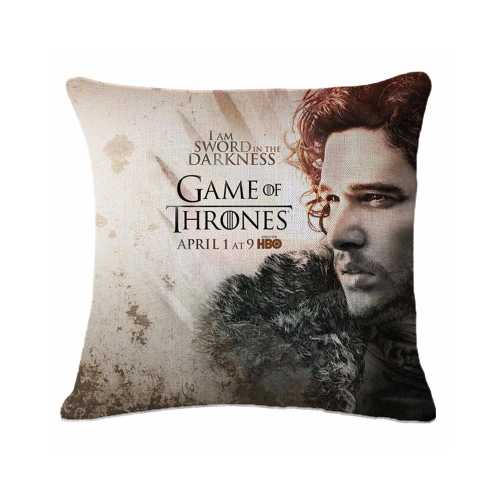 Polštář Game of Thrones (Hra o Trůny) - Jon Snow
