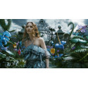 Řetízek Alenka v říši divů (Alice in Wonderland)  - klíč
