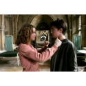 Řetízek Harry Potter - Obraceč času (fialový písek)