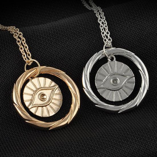 Divergence náhrdelník frakce Sečtělost (symbol oka)