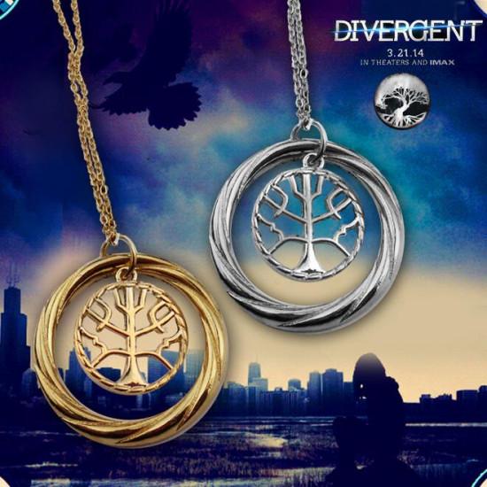 Divergence náhrdelník frakce Mírumilovnost (symbol stromu)