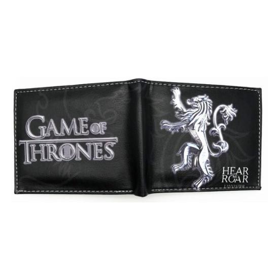 Peněženka Hra o trůny (Game of Thrones) - Hear Me Roar (Lannister, stříbrný)