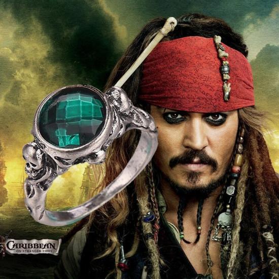 Prsten Piráti z Karibiku - Jack Sparrow