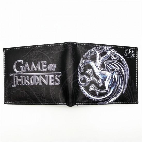 Peněženka Hra o trůny (Game of Thrones) - Fire and Blood (Targaryen)