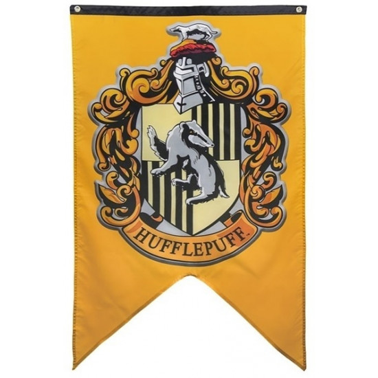 Vlajka Harry Potter - Mrzimor (Hufflepuff)