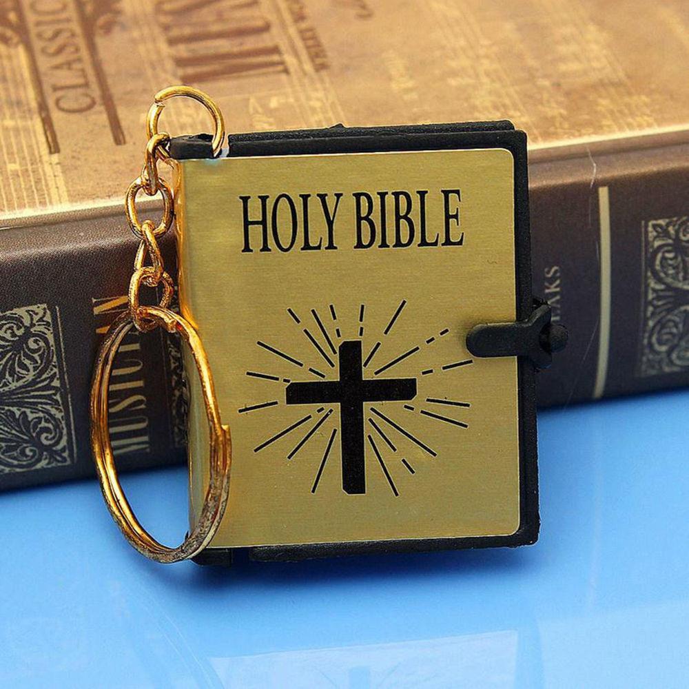 Klíčenka Constantine - Bible (zlatá)