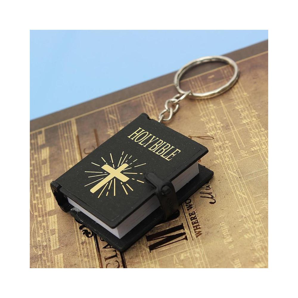 Klíčenka Constantine - Bible (černá)