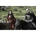 Klíčenka Game of Thrones (Hra o trůny) - Baratheon mince (stříbrná)