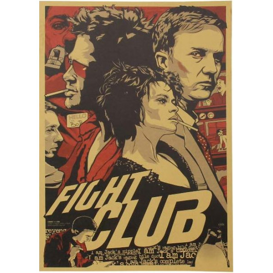 Plakát k filmu Klub rváčů (Fight Club)