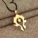 Přívěsek Warcraft - Za Hordu (gold)
