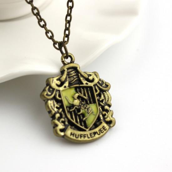 Řetízek Harry Potter – erb koleje Mrzimor (Hufflepuff)