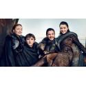 Prsten Game of Thrones (Hra o trůny) - Stark (modrý)
