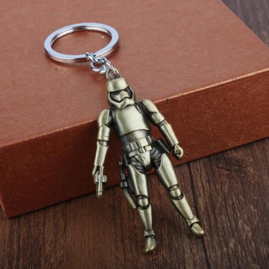 Klíčenka Star Wars - klon (zlatý)