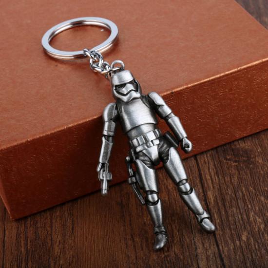 Klíčenka Star Wars - klon (stříbrný)