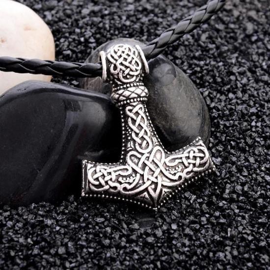 Řetízek Vikingové - kladivo stříbrné