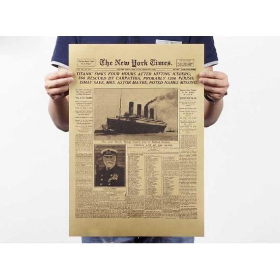 Plakát Titanic