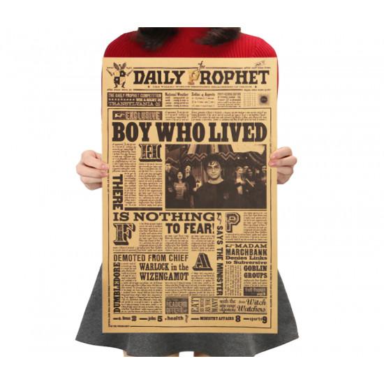 Plakát Harry Potter - Chlapec který přežil