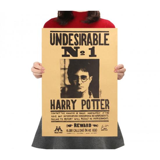 Plakát Harry Potter - nepřítel č. 1