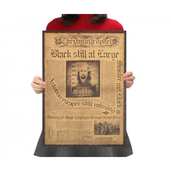 Plakát Harry Potter - Sirius Black stále na útěku