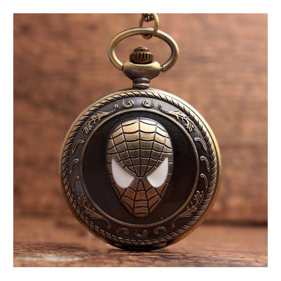 Kapesní hodinky Spider Man