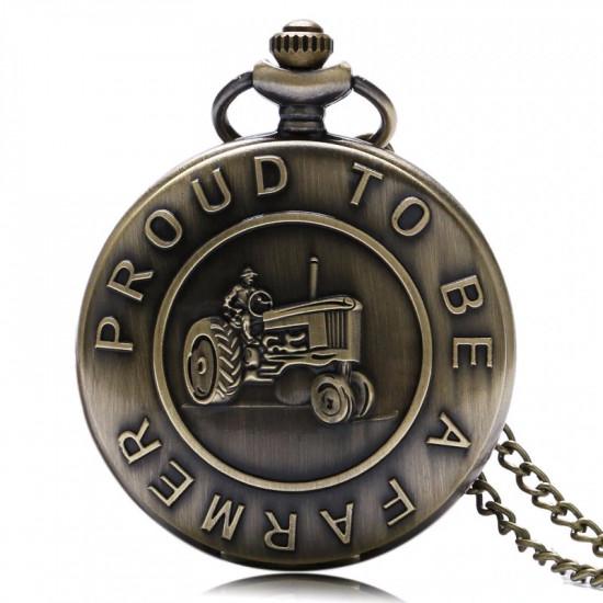 Kapesní hodinky Hrdý farmář