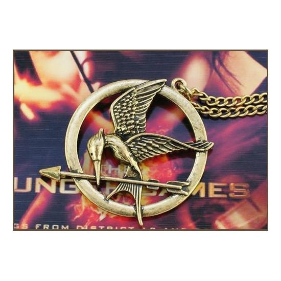 Náhrdelník Hunger Games - Mockingjay (Reprodrozd)