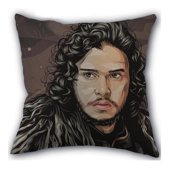 Polštář Hra o Trůny - Jon Snow (malovaný)