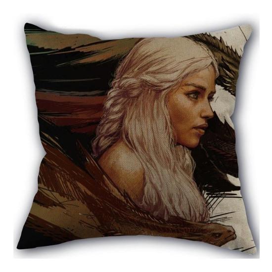 Polštář Hra o Trůny - Daenerys (malovaný)