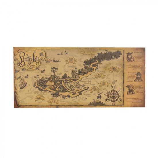 Plakát Piráti ze Země Nezemě - pirátský poklad