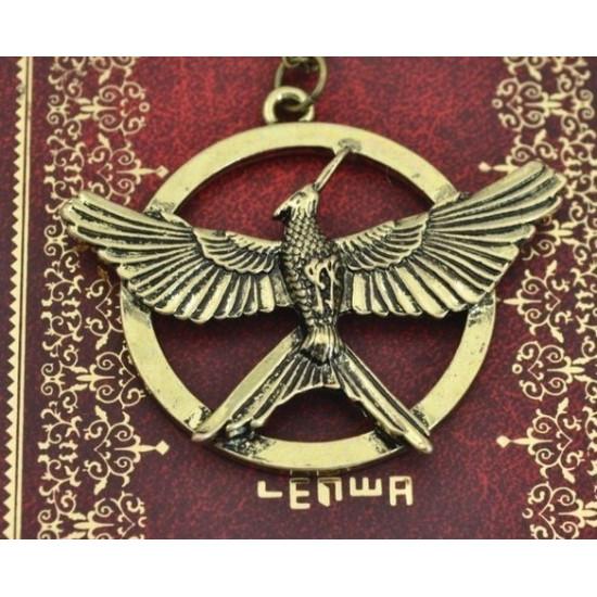 Řetízek Hunger Games - MOCKINGJAY 3