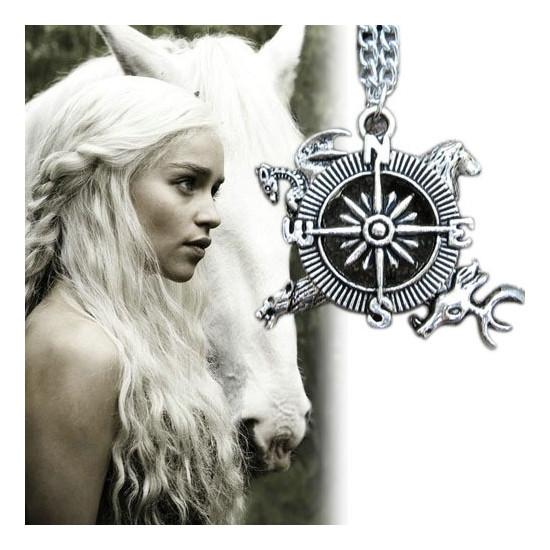 Řetízek Game of Thrones (Hra o trůny) - kompas