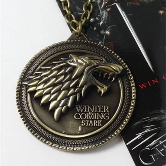 Řetízek Game of Thrones (Hra o trůny) - Stark