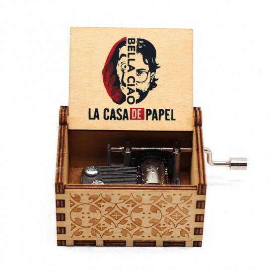 Hrací skříňka Papírový dům - Bella Ciao