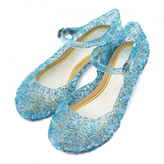 Dětské boty pro princeznu (modré)