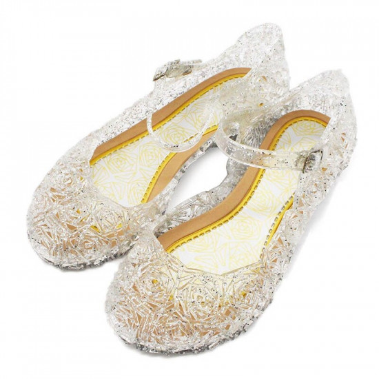 Dětské boty pro princeznu (bílé)