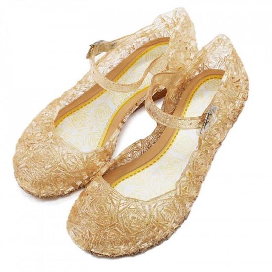 Dětské boty pro princeznu (zlaté)