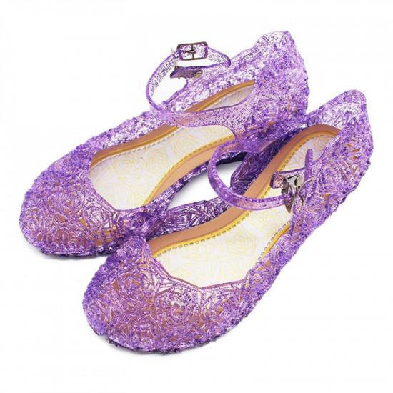 Dětské boty pro princeznu (fialové)